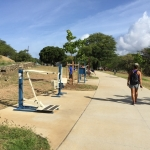 Bryan Clay exercise park